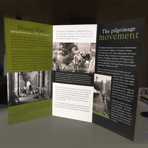 Utställning om pilgrimsvandring Skara kommun