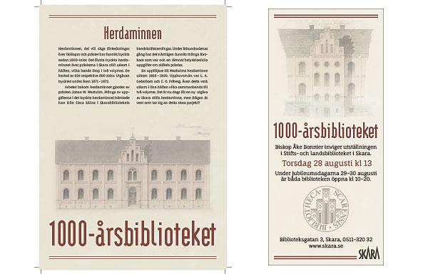 1000-årsbiblioteket Skara museum