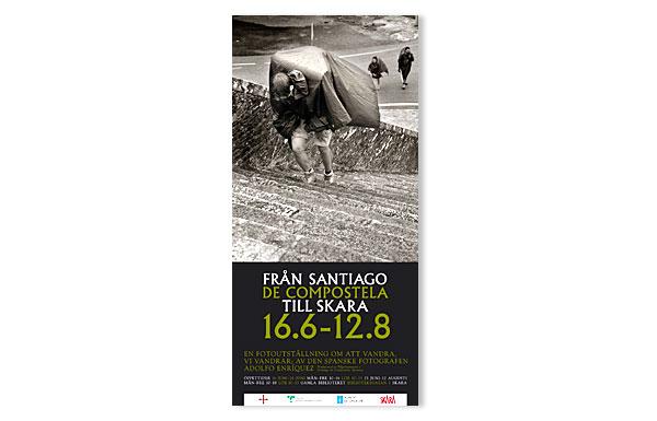 Affisch Pilgrimsutställning Skara