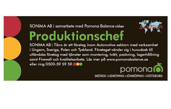 Platsannons för Pomona