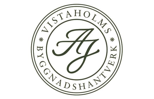Logotyp för Vistaholms Byggnadsvård