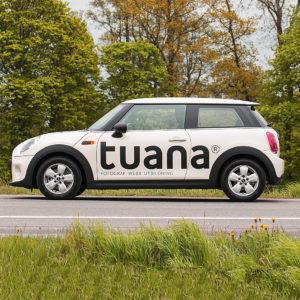 Logotyp & profilbil för fotograf Tuana