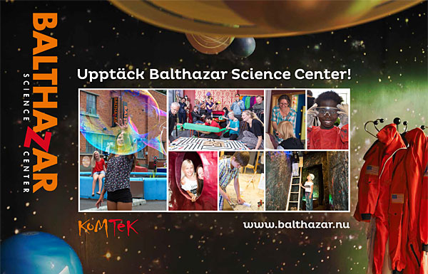 Mässvägg Balthazar Science Park