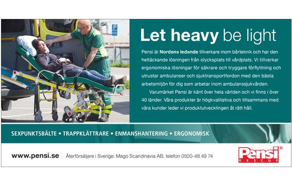 Annonsserie för företaget Pensi